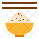 Rice Bowl Meal Icon