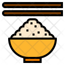 Bowl Rice Meal Icon
