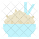 Rice Bowl Tasty Meal Icon