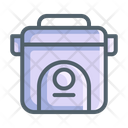 Electronic Rice Cooker Kitchen Icon