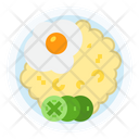 Breakfast Food Fried Icon