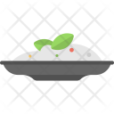 Rice Plate Food Icon