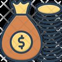 Rich Wealthy Money Icon