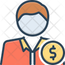 Rich Man People Icon