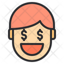 Rich Emotion Face Icon