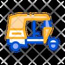 Public Transport Rickshaw Icon