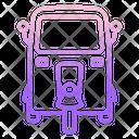 Iauto Rickshaw Icon