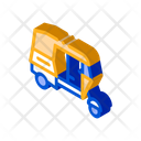 Transport Boat Train Icon