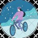 Bike Ride Bicycle Icon