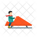 Riding Sled Icon
