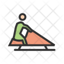 Riding sledge Icon