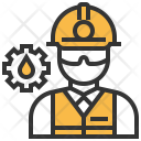 Rig Worker Engineer Icon