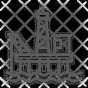 Rig Oil Platform Icon