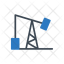 Rig Oil Refinery Icon