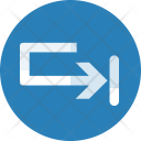 Right Way Direction Icon