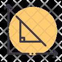 Right Angle Triangle Icon