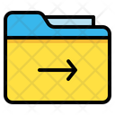 Folder Archive Right Icon