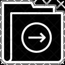 Right Arrow Folder Icon