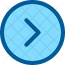 Right Arrow Interface Icon