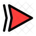 Right Right Arrow Arrows Icon