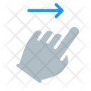 Right Swipe Finger Icon