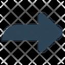Social Arrow Right Icon