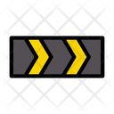 Arrow Direction Traffic Icon