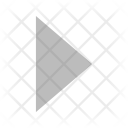Right Triangle Arrow Icon