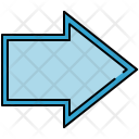 Right Arrow Sign Icon