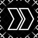 Right Arrow Speed Icon