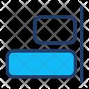 Align Right Text Icon