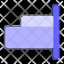 Right-align Icon