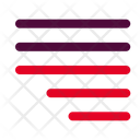 Right Justify Align Icon