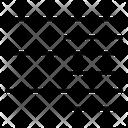 Right Align Alignment Text Icon