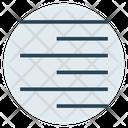 Right Alignment Align Icon
