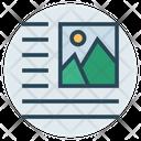 Right Align Image Icon
