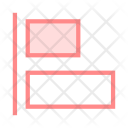Right Alignment Text Icon