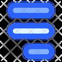 Alignment Right Document Icon