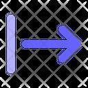 Right-alignment Icon