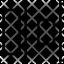 Right alignment Icon