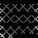 Alignment Web Mobile Icon