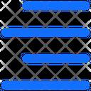 Right Alignment Alignment Right Icon