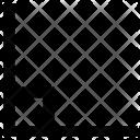 Right Angle Figure Icon
