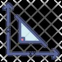 Triangle Theorem Pythagoras Icon