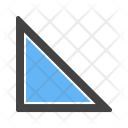 Right angle triangle Icon