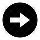 Right Arrow Circle Icon
