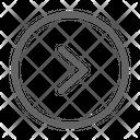 Arrow Right Interface Icon