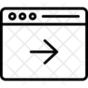 Right Arrow Browser Forward Icon