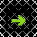 Right Arrow Arrow Sign Icon