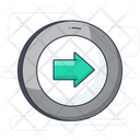 Exit Arrow Right Arrow Directional Arrow Icon